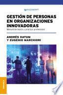 Gestión De Personas En Organizaciones Innovadoras
