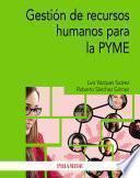 Gestión de recursos humanos para la PYME