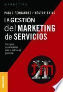 Gestión del marketing de servicios, La