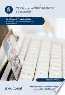 Gestión operativa de tesorería. ADGD0308