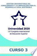 Gestión universitaria del conocimiento y la innovación para el desarrollo local sostenible