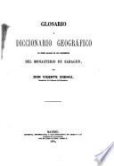 Glosario y diccionario geográfico de voces sacadas de los documentos del Monasterio de Sahagún