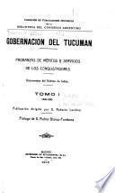 Gobernación del Tucumán: 1548-1583
