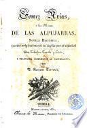 Gómez Arias, ó, Los Moros de las Alpujarras, 1