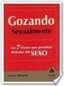 GOZANDO SEXUALMENTE