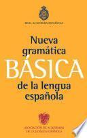 Gramática básica de la lengua española