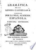 Gramática de la lengua Castellana