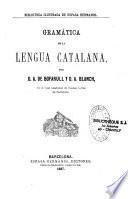 Gramatica de la lengua catalana