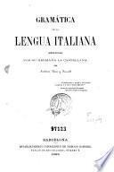 Gramática de la lengua italiana