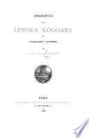 Gramatica de la lengua köggaba