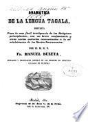 Gramatica de la lengua tagala