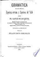 Gramática de las lemguas [sic] zapoteca-serrana y zapoteca del valle