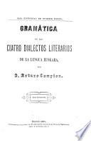 Gramática de los cuatro dialectos literarios de la lengua eukara