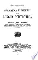 Gramática elemental de la lengua portuguesa