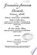 Gramática francesa de Lhomond