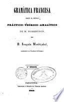 Gramática francesa según el método de M. Robertson