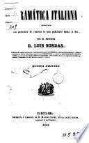 Gramàtica italiana