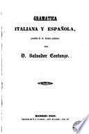 Gramática italiana y española