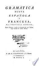 Gramatica nueva española y Francesa