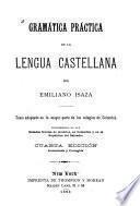 Gramática práctica de la lengua castellana