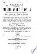 Gramática teaducida[!] en lengue tagala de la castellana