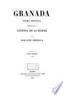 Granada, poema oriental