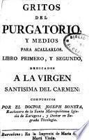 Gritos del Purgatorio y medios para acallarlos