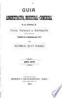 Guía administrativa, industrial y comercial de las provincias de Tacna, Tarapacá y Antofagasta