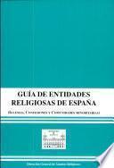 Guía de entidades religiosas de España