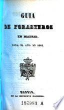 Guia de forasteros en Madrid