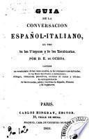 Guia de la conversacion Espanol-Italiano