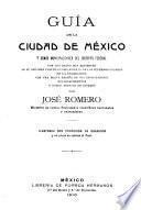 Guía de la cuidad de México y demás municipalidades del Distrito Federal