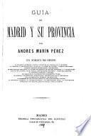 Guia de Madrid y su provincia