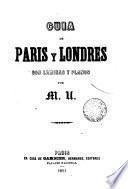 Guía de París y Londres