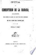 Guía del cementerio de la Habana