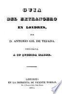 Guia del extrangero en Lóndres