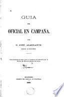 Guia del oficial en campaña