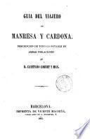 Guia del viajero en Manresa y Cardona