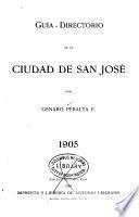 Guía-directorio de la ciudad de San José