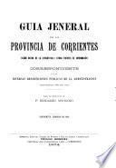 Guia jeneral de la provincia de Corrientes