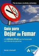 GUIA PARA DEJAR DE FUMAR.