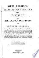 Guía política, eclesiástica y militar del Perú