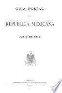 Guia postal de la Republica Mexicana