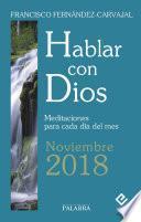 Hablar con Dios - Noviembre 2018
