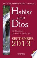 Hablar con Dios - Septiembre 2013