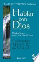 Hablar con Dios - Septiembre 2015