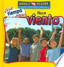 Hace viento (Let's Read About Wind)