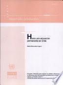 Hacia una educación permanente en Chile