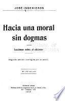 Hacia una moral sin dogmas