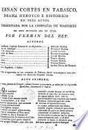Hernan Cortés en Tabasco